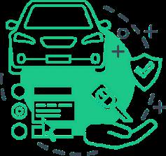 diagram of getting a car loan