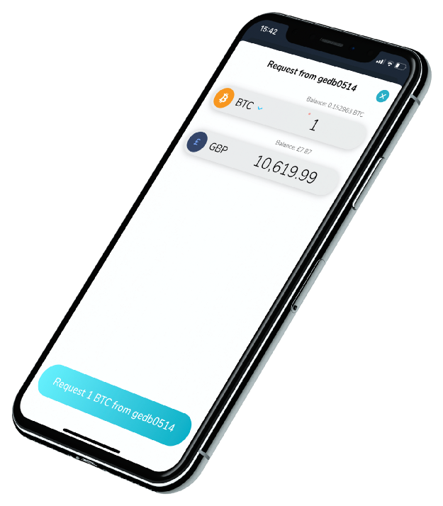 How to request bitcoin