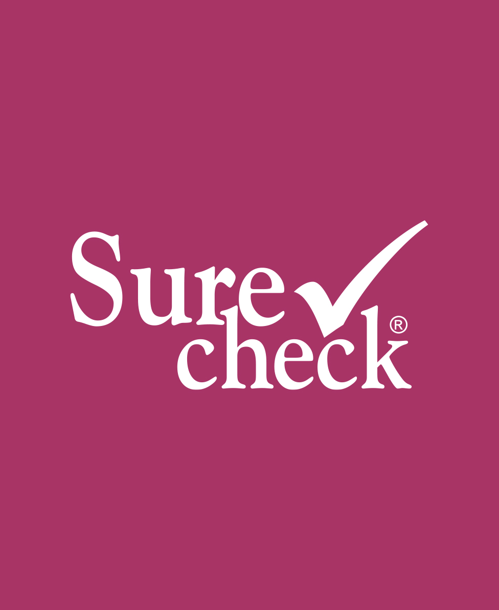 sure check logo social media project