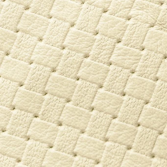 Basketweave Monetary White