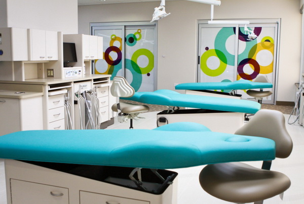 dental chairs in our exam area