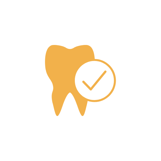 tooth with checkmark