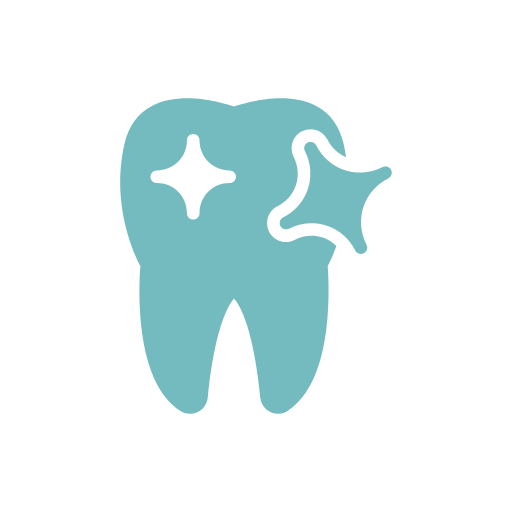 sparkling tooth