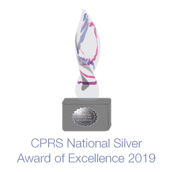 Graphic of CPRS National Silver trophy