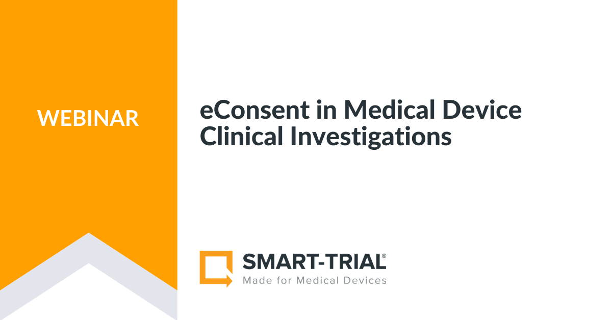 eConsent in Medical Device Clinincal Investigations