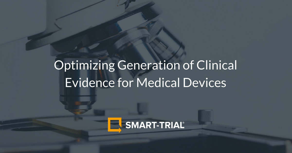 |Optimizing Generation of Clinical Evidence for Medical Devices|Cooperation between teams|