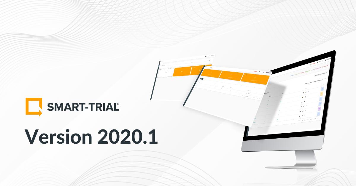 SMART-TRIAL 2020.1 release||