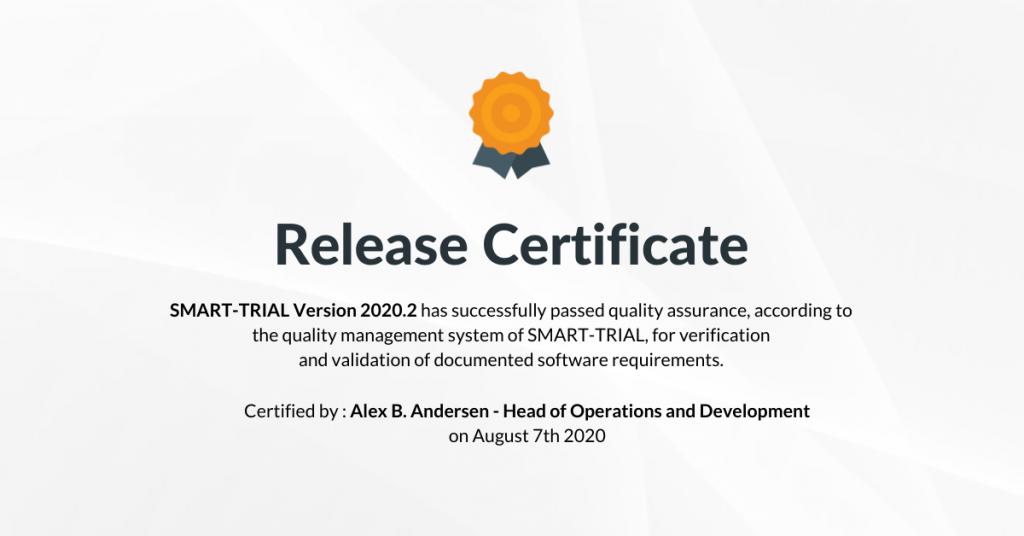 Release Certificate