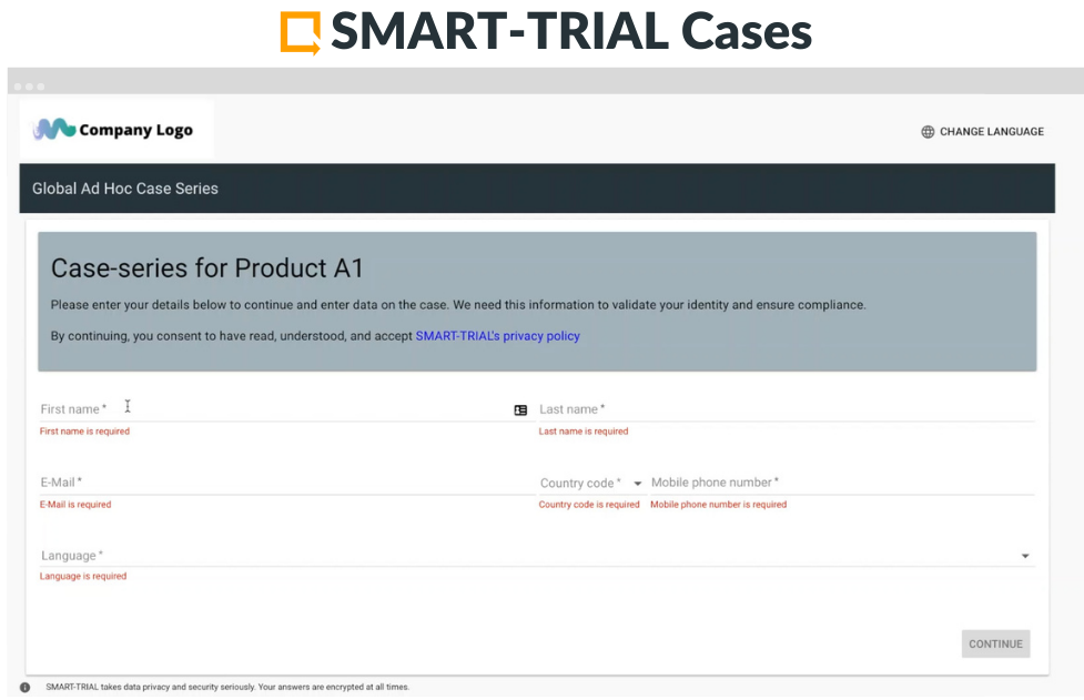 SMART-TRIALCases is the first PMCFtool designed for prospective and case-based data collection under the MDR