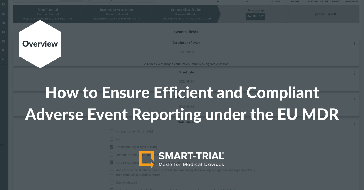 Adverse Event Reporting for Medical Devices