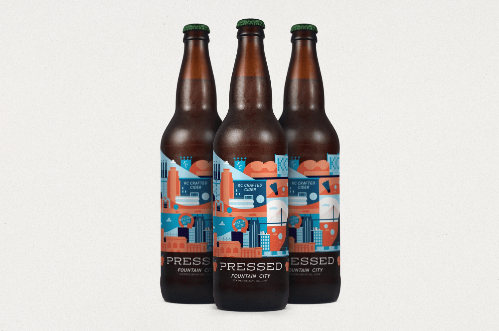 State Cider Co. brand identity and packaging design.