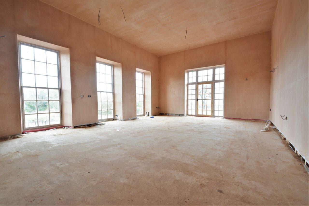 Finish walls and floors