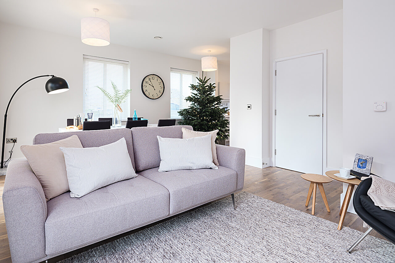Declutter and remove decorations