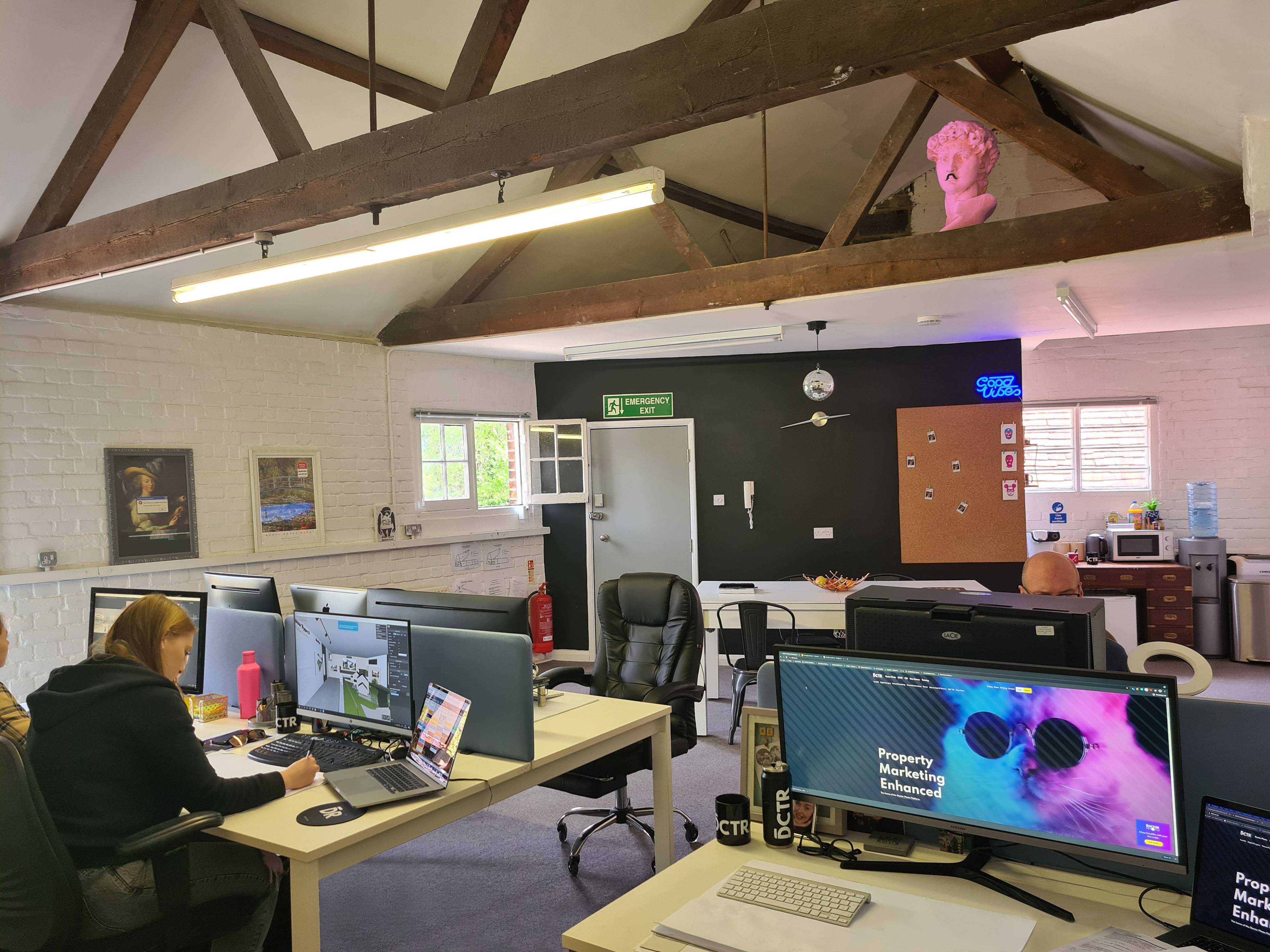 Our team slowly returnto our studio!