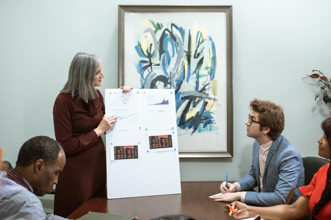 Team discussing employee empowerment boundaries