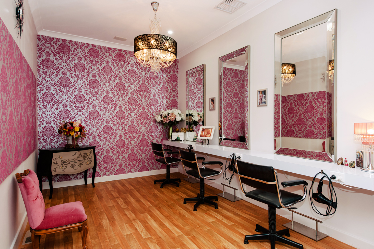 Rose Room at The Last Tangle Hair Company