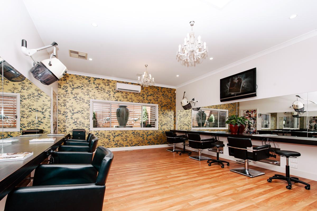 Garden Room at The Last Tangle Hair Company