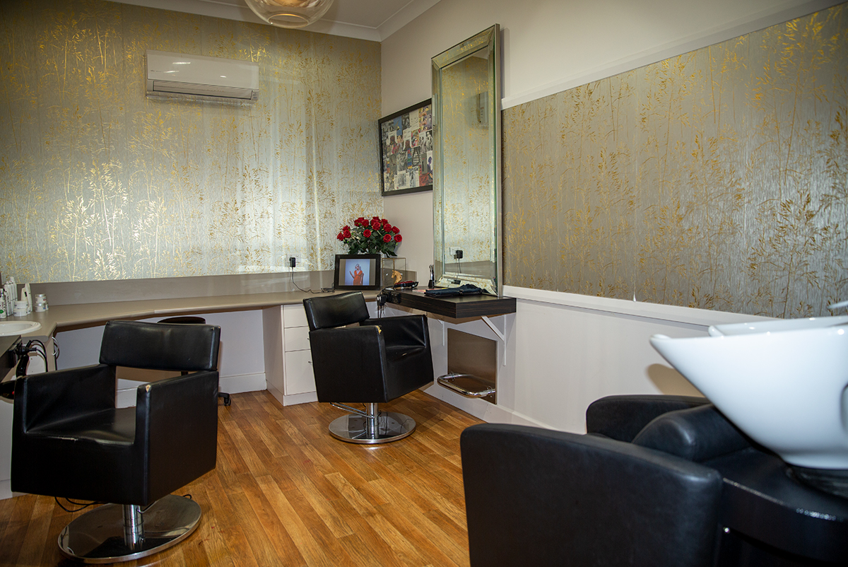 Private Room at The Last Tangle Hair Company