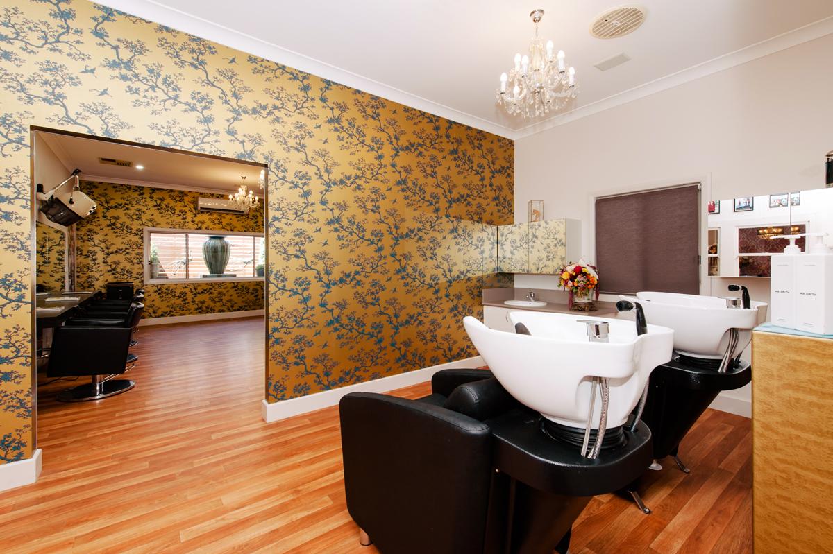 Shampoo Room at The Last Tangle Hair Company