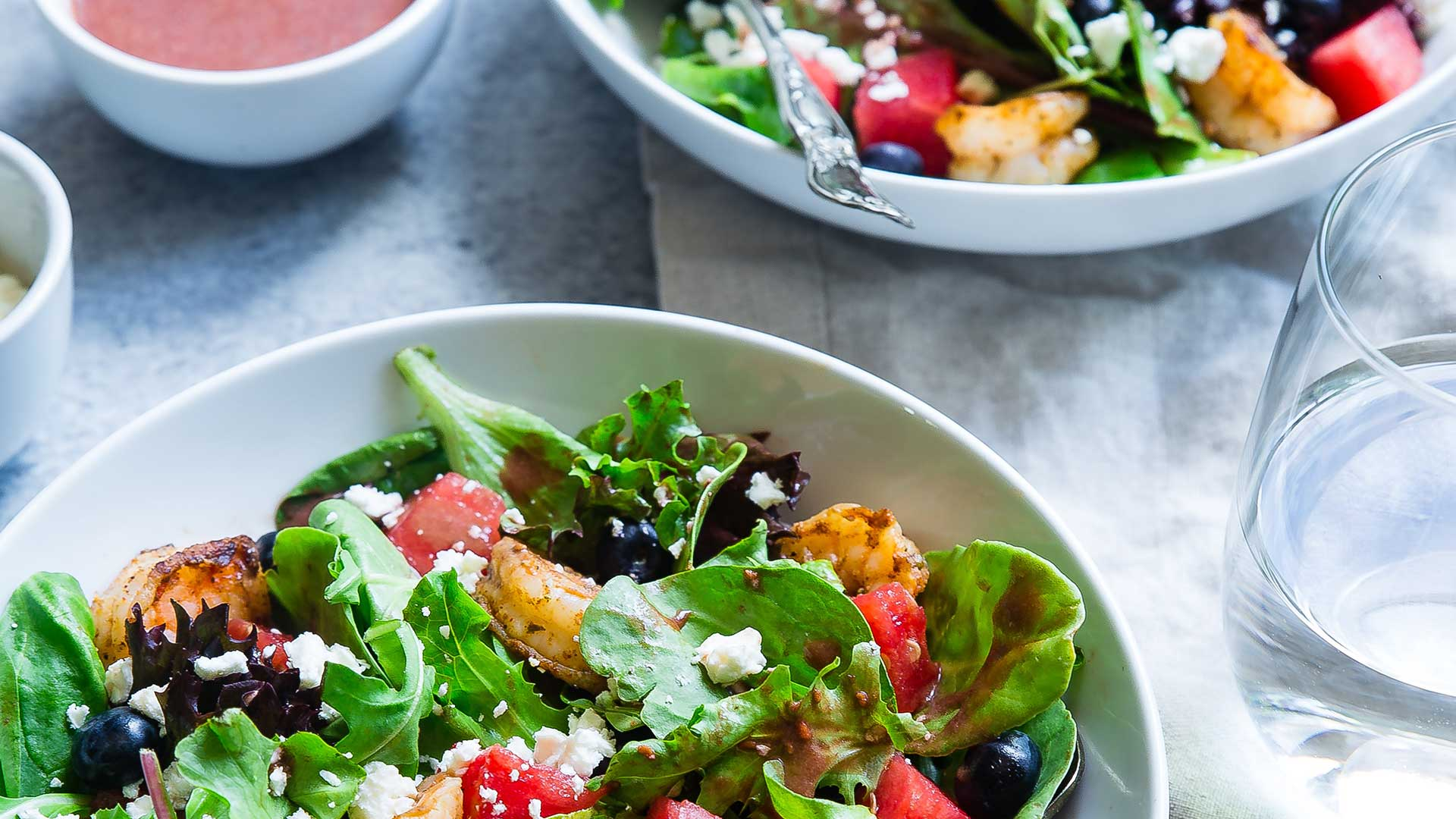photo of salad bowl