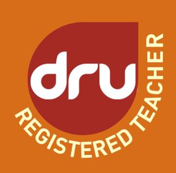 dru registered teacher logo