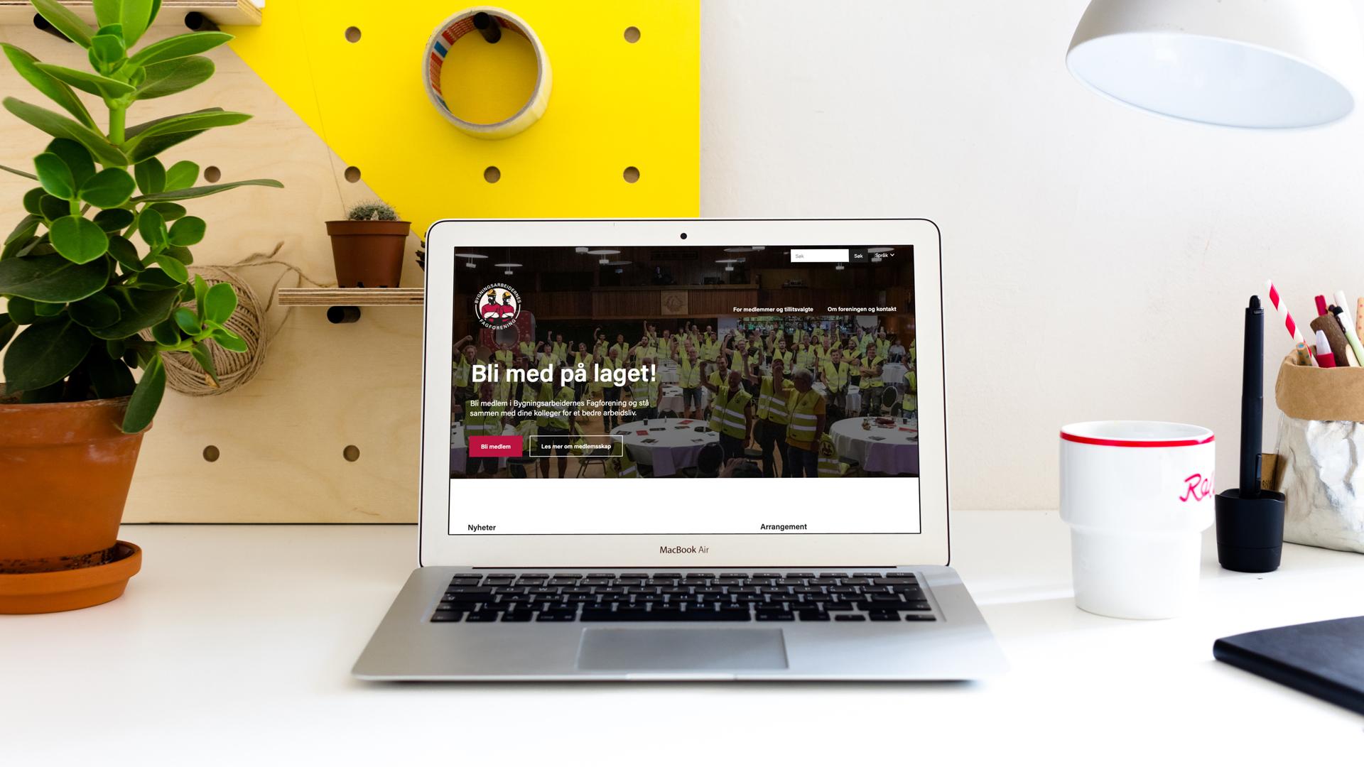 Velkommen til vår nye nettside