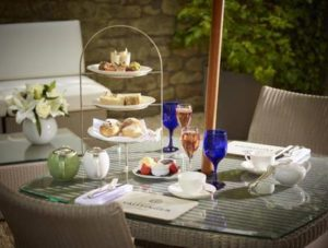 Afternoon tea at the Royal Crescent Hotel in Bath