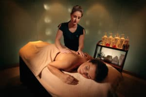 Massage at the Bath Thermae Spa