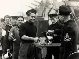 Royal Navy seamen daily rum ration