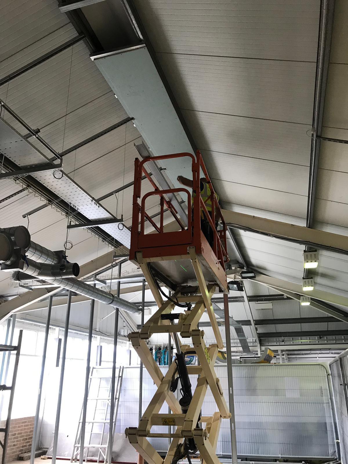 Engineer on Mechanical Lift