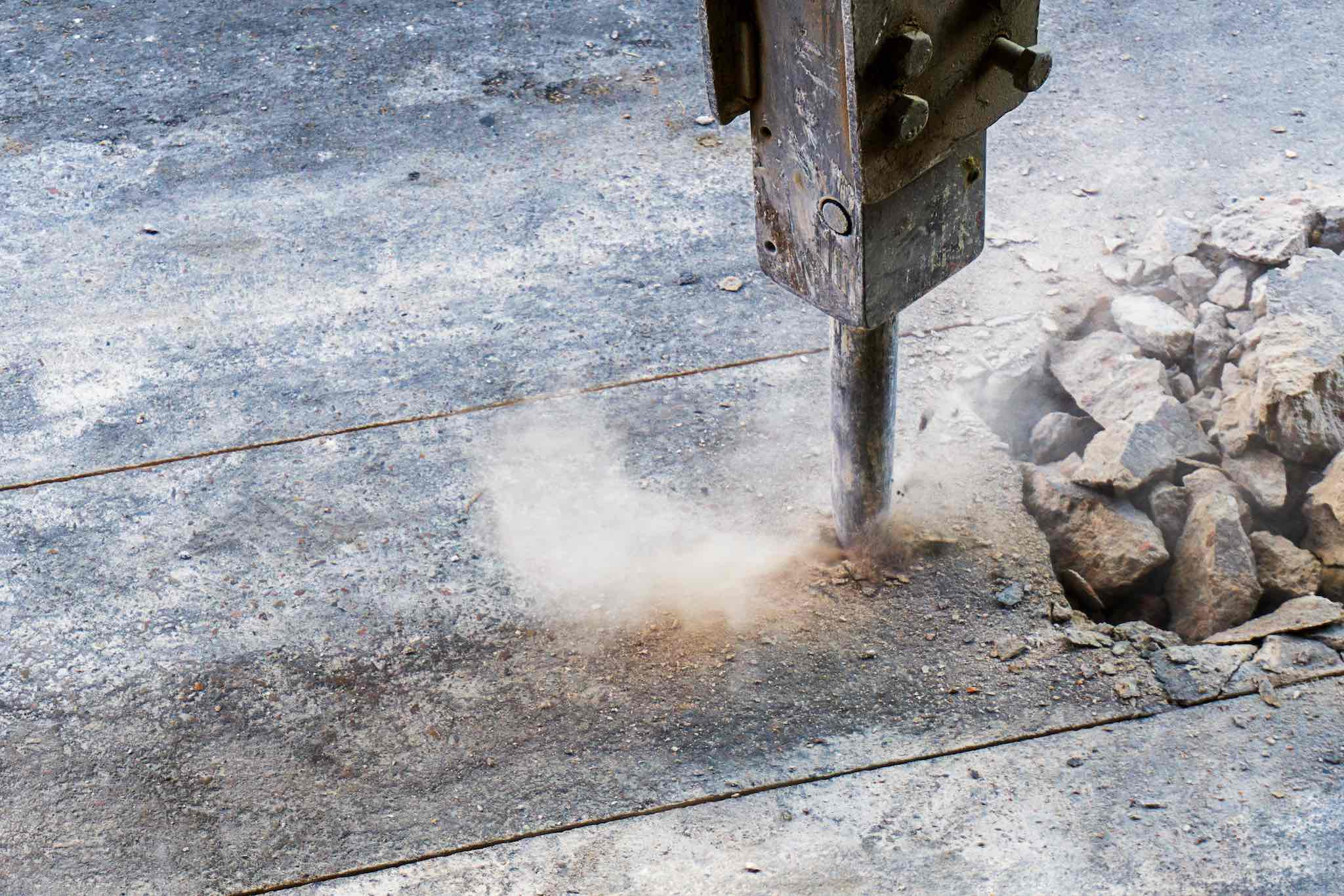 Affordable Concrete Cutting - Jack Hammer