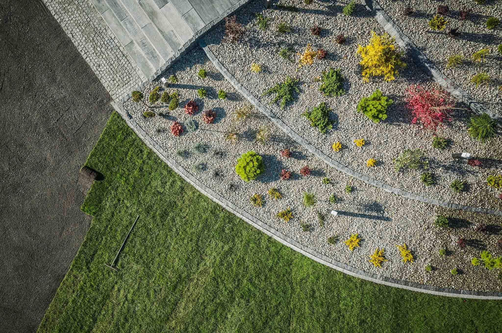 Concrete Curb Landscaping