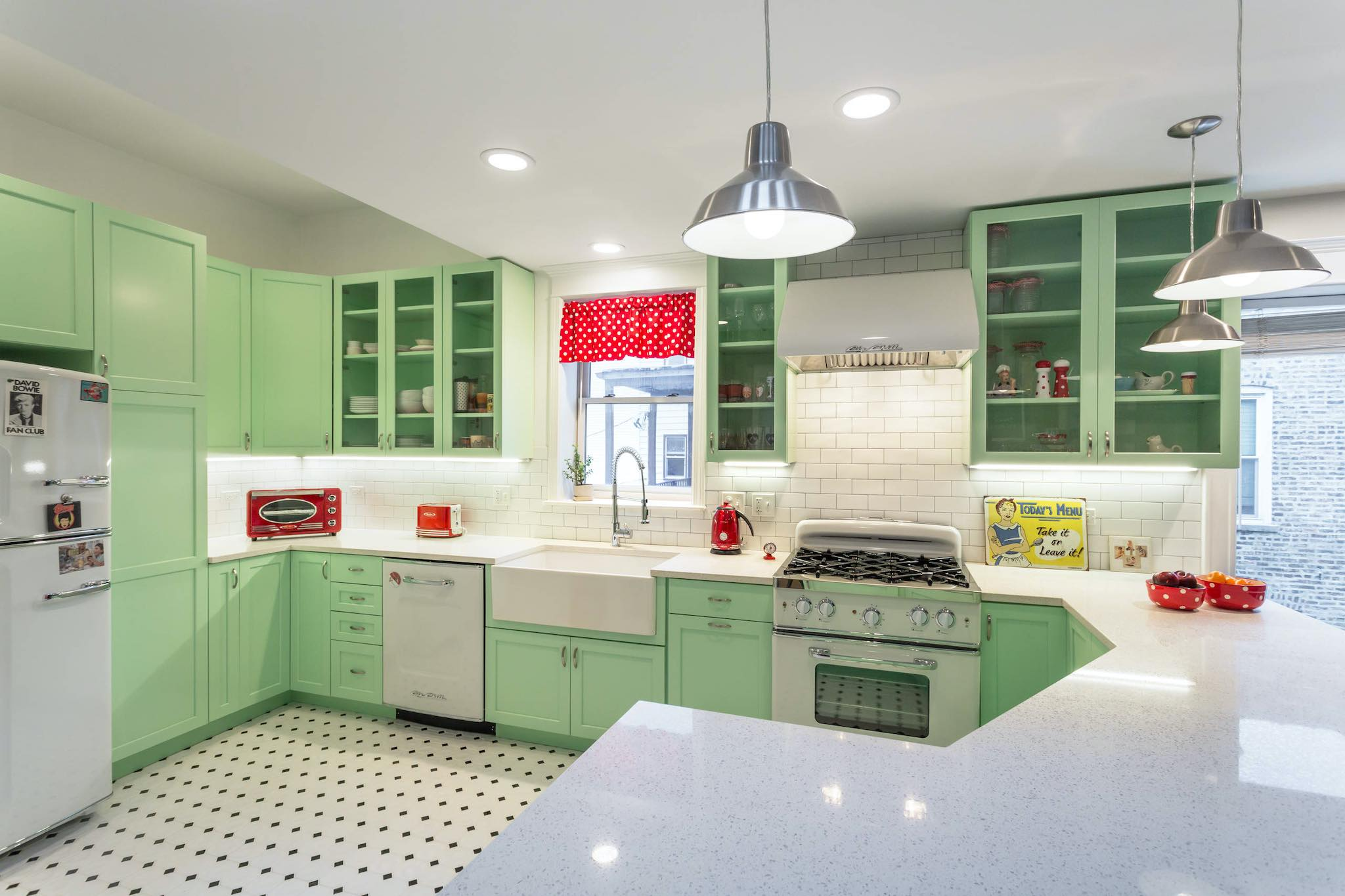 1940's Retro Theme Kitchen