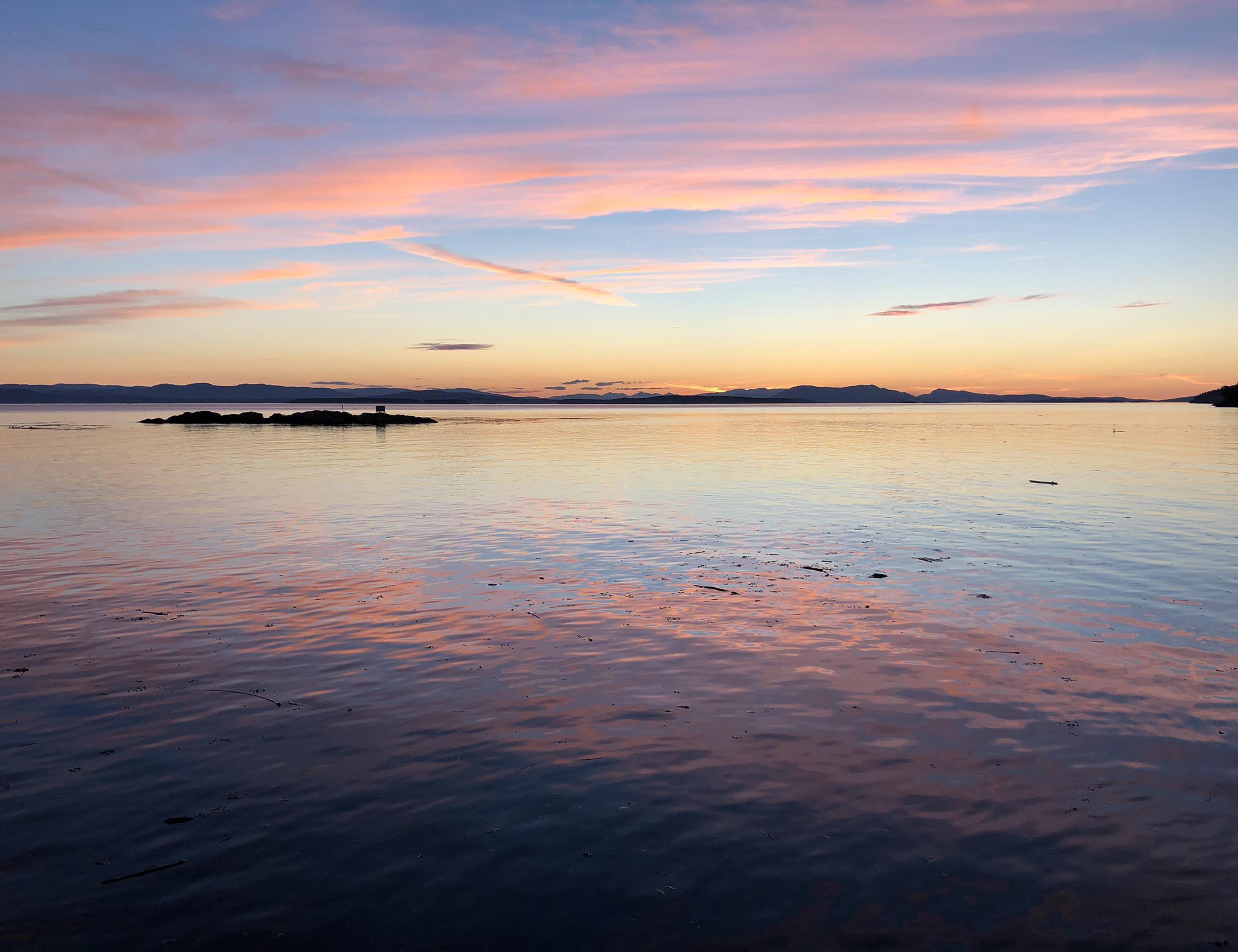 Sunset on San Juan Island