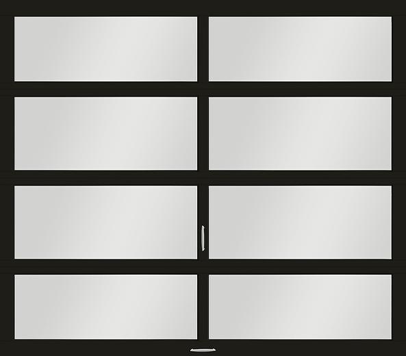 Vista Glass Garage Door