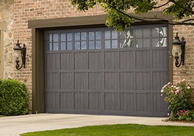 Modern Steel Garage Door