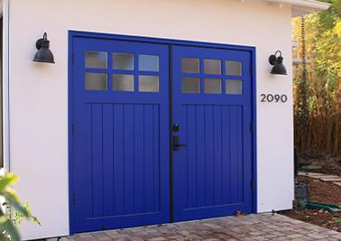 True Swing Garage Door