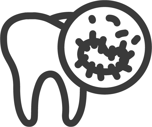 dirty tooth icon