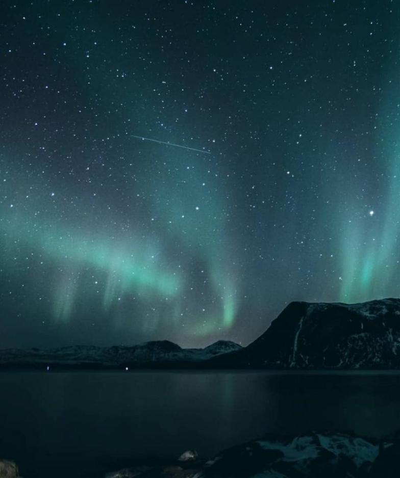 Photo of the Aurora Borealis.