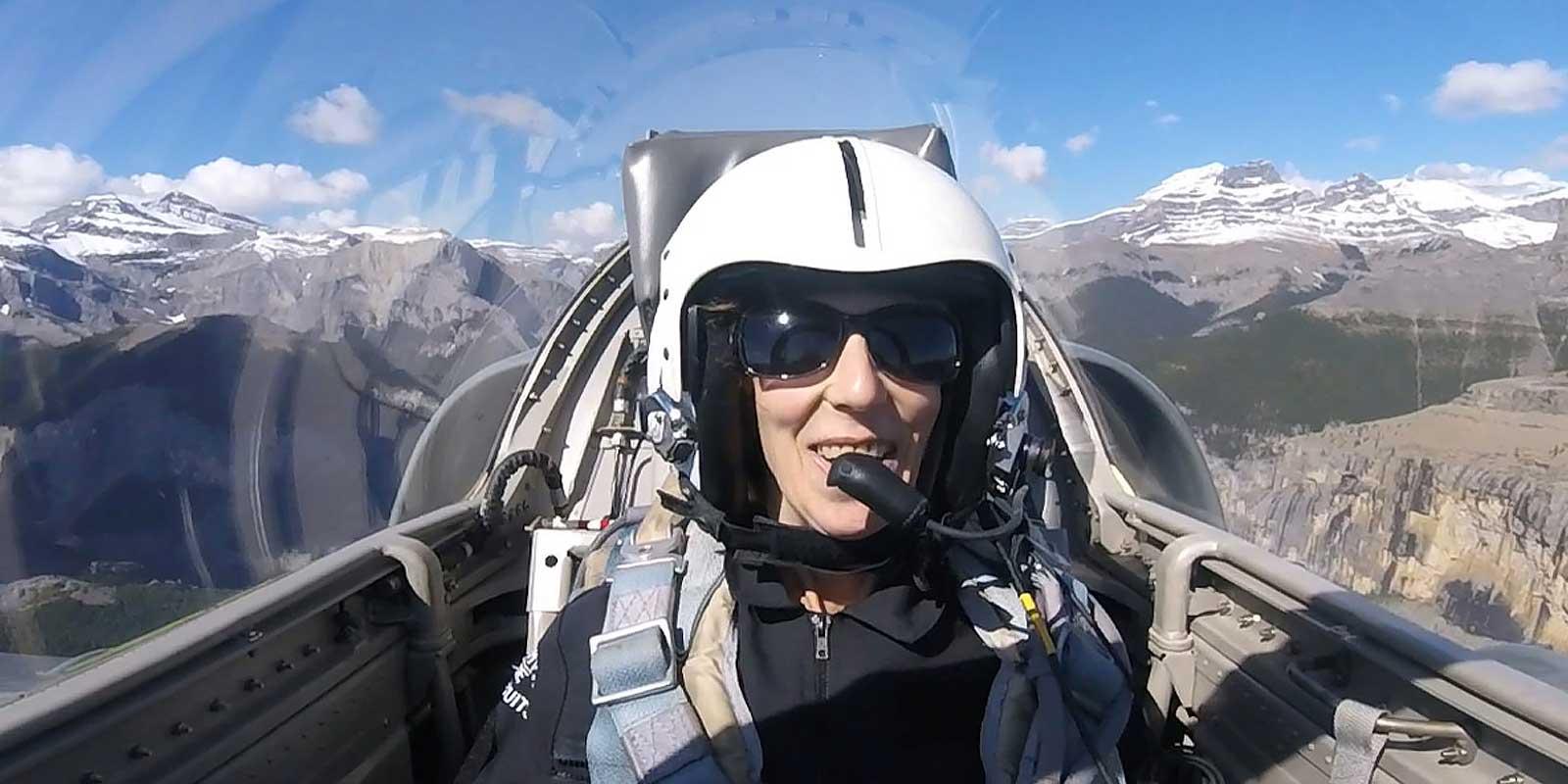 Fighter Jet Flying in Calgary