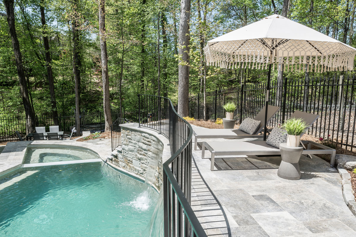 Chapel Grove Pool Design