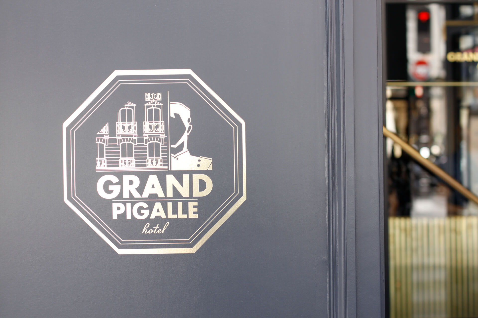 grand pigalle hotel paris logo