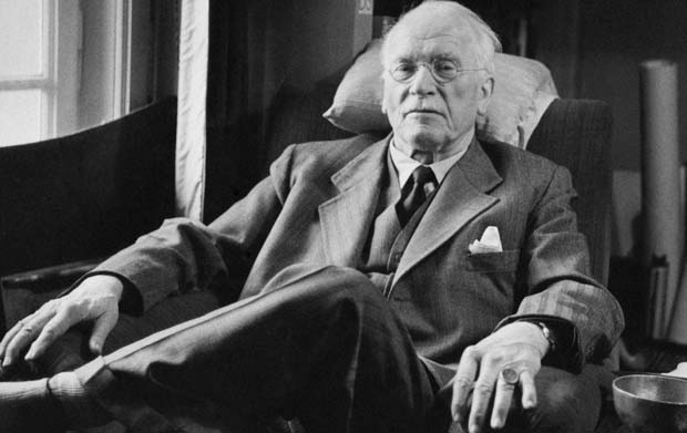 Carl Jung old chair suit