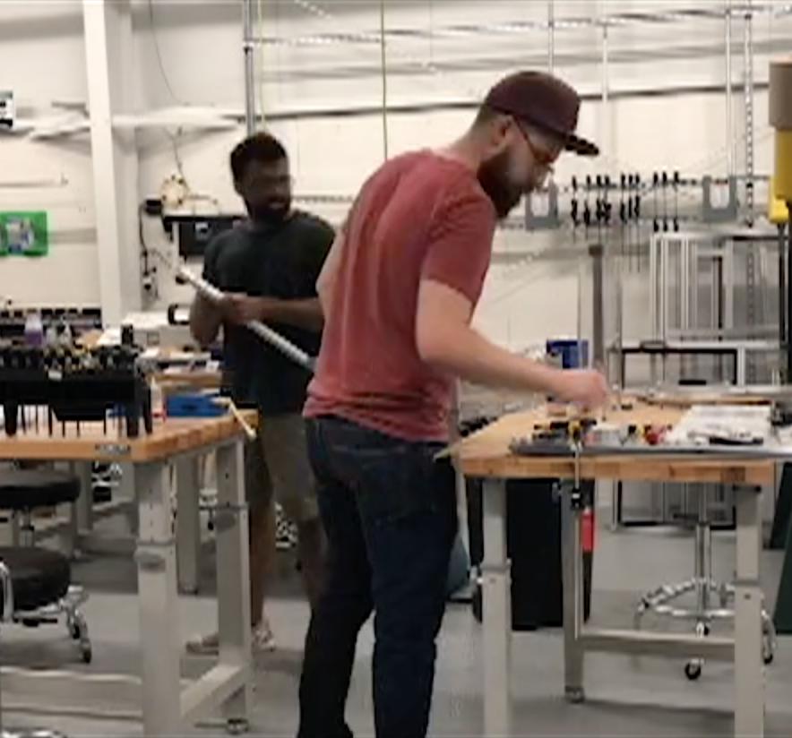 Patrick Prasad Hangar6 Prototyping - Trig Industrial Design - Explore Prototype Build