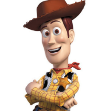 Woody with no context is just an animated cowboy.