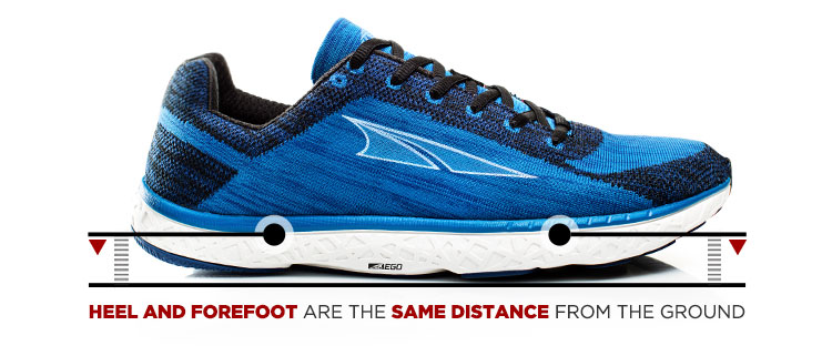 Zero Drop Shoe industrial design