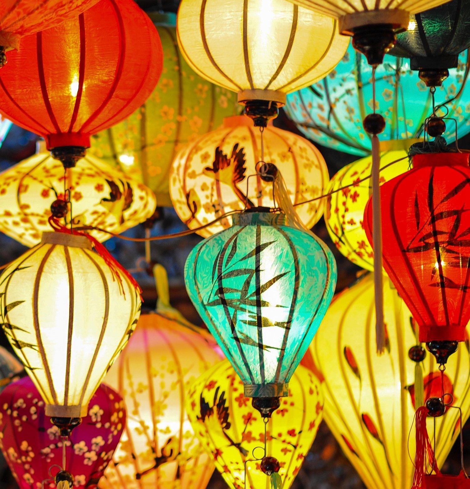 Lanterns by Min An