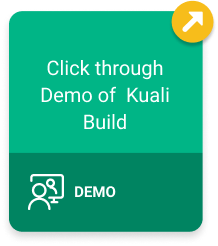 Click Through Demo of Kuali Build