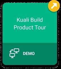 Kuali Build Product Tour Demo