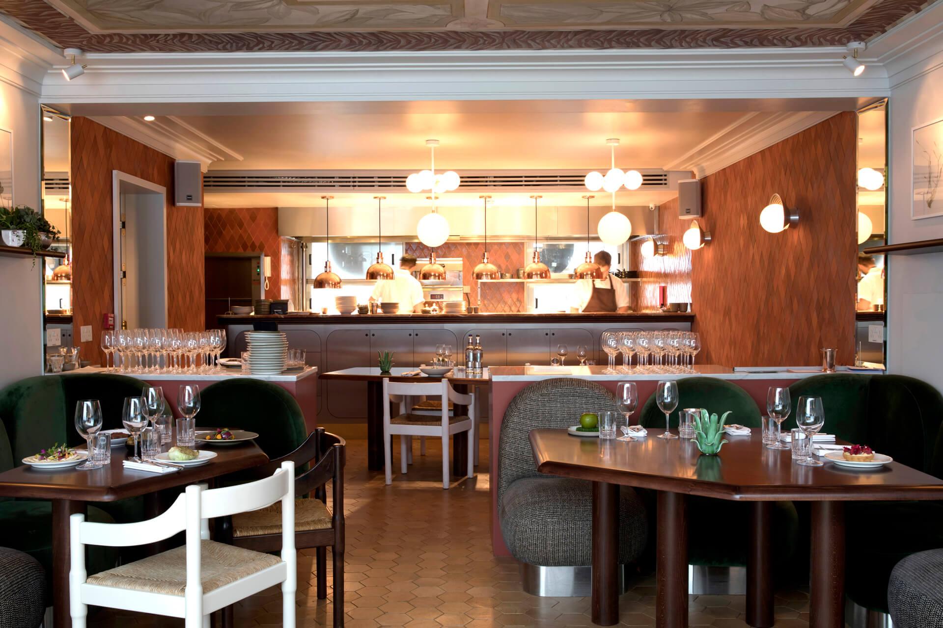 restaurant 2 henrietta hotel london
